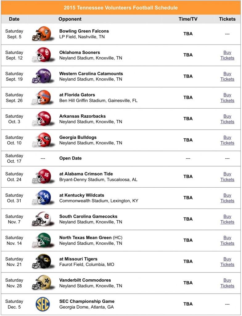 2017 Printable Alabama Football Schedule | Autos Post